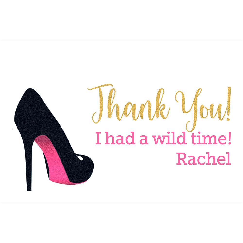 Custom Bachelorette Stilettos Thank You Notes Image #1