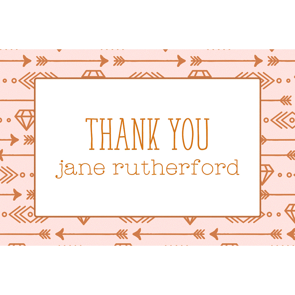 Custom Bride Tribe Thank You Notes Image #1