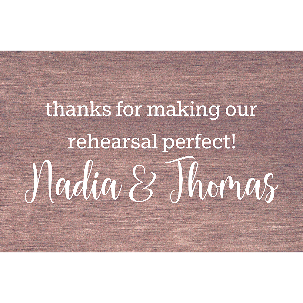 Custom Practice Makes Perfect Thank You Notes Image #1