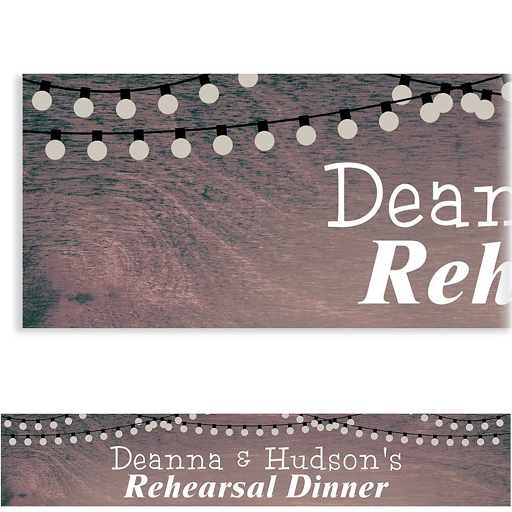 Custom Rehearsal Wood Background Banner Image #1