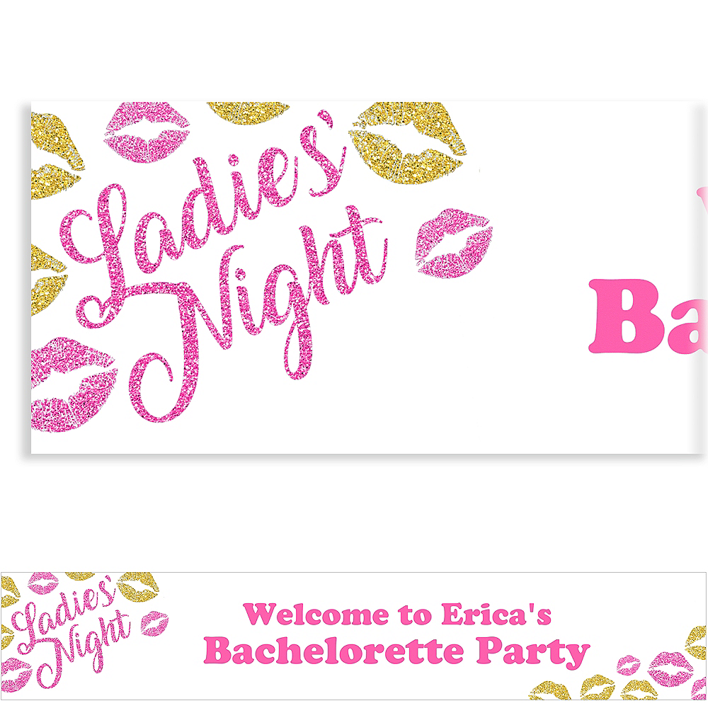 Custom Glitter Kisses Banner Image #1