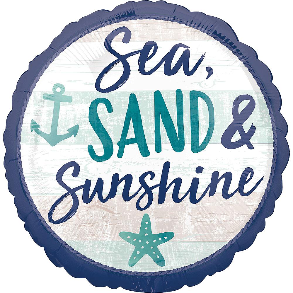 Sea Sand Sun Balloon, 17in Image #1