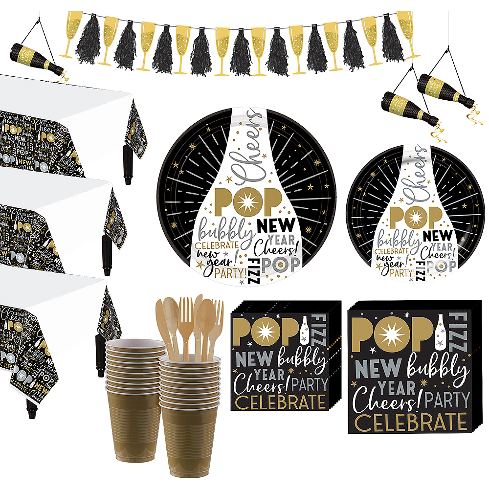 Celebrate the New Year Party Kit for 50 Guests Image #1