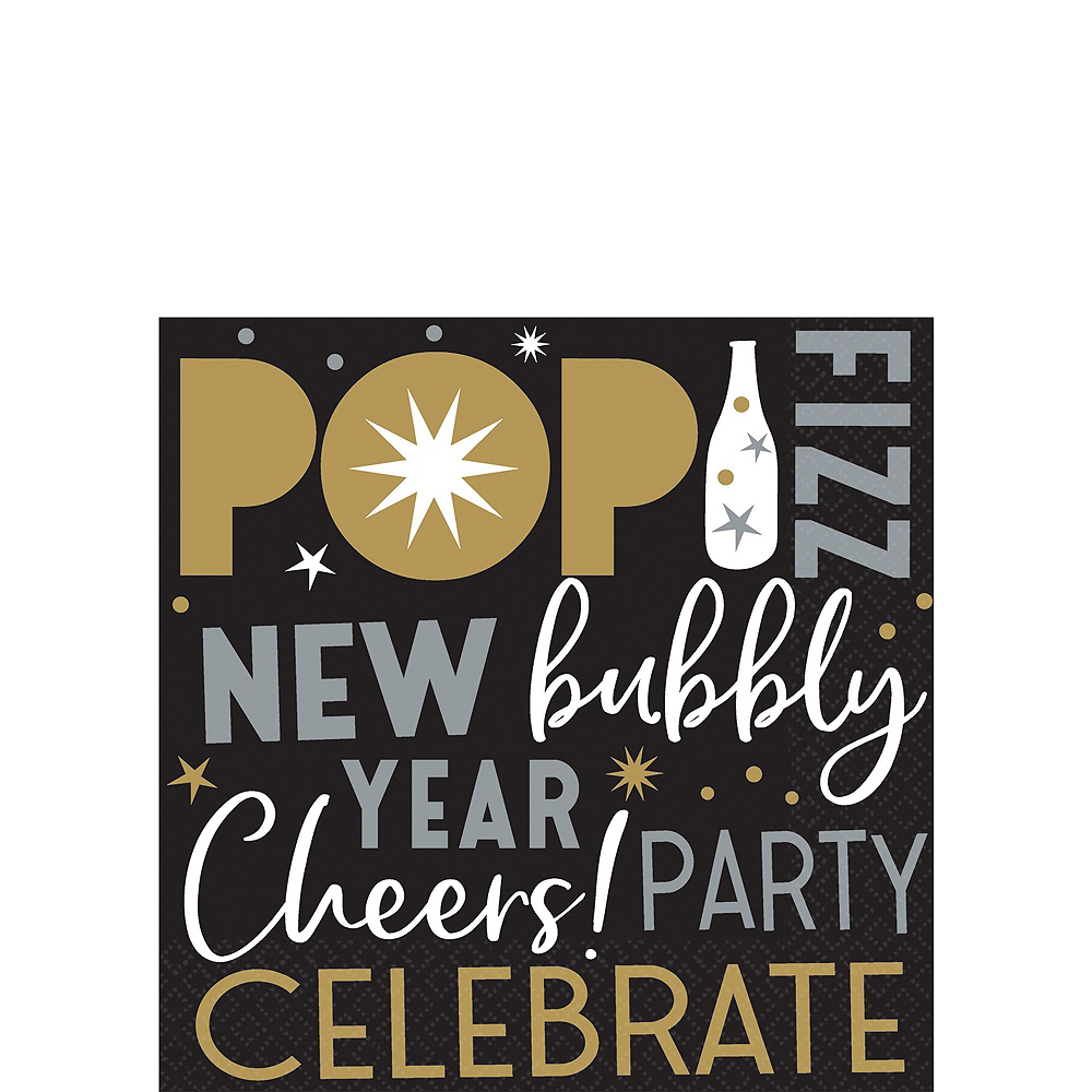 Celebrate the New Year Party Kit for 50 Guests Image #4