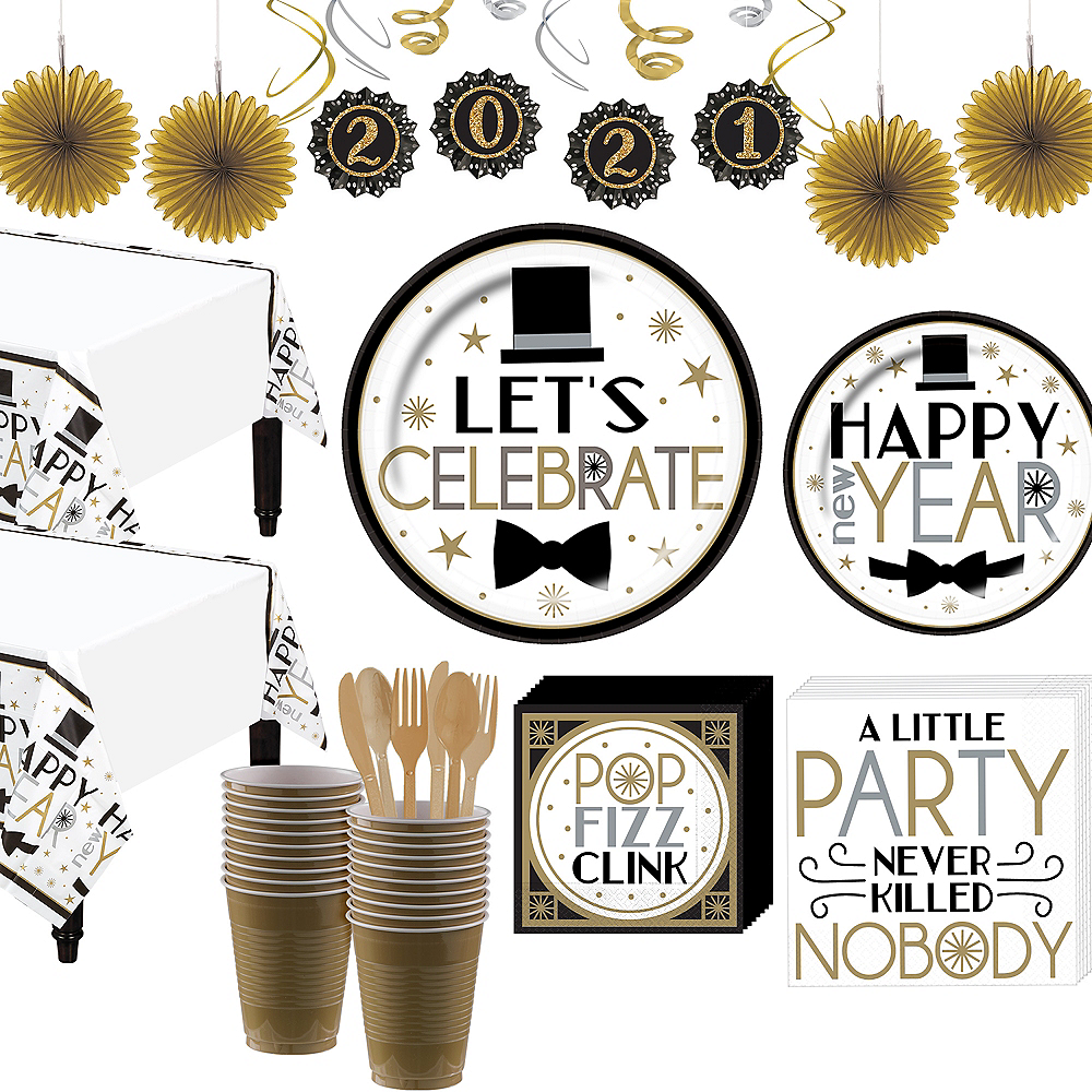 Super Dapper Night Party Kit for 36 Guests Image #1