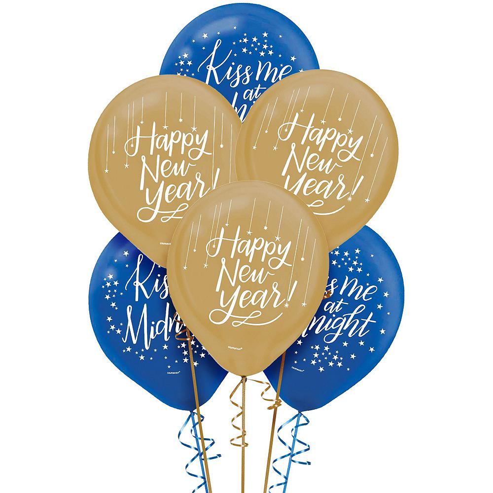 Midnight New Year's Eve Balloon Kit Image #3