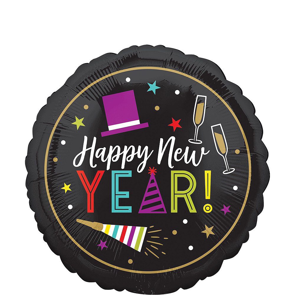 Colorful Cheers New Year's Eve Balloon Kit Image #2