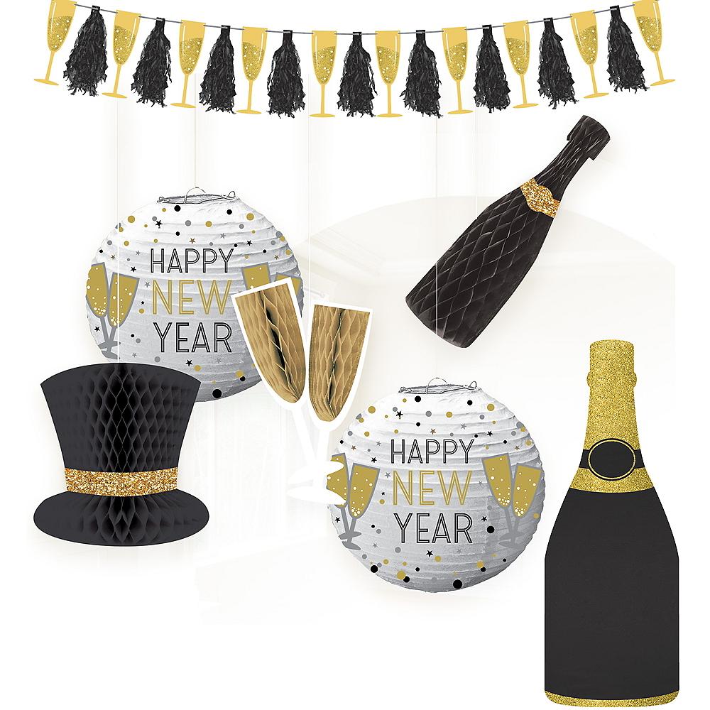 Bubbly Bottle New Year's Eve Decorating Kit Image #1