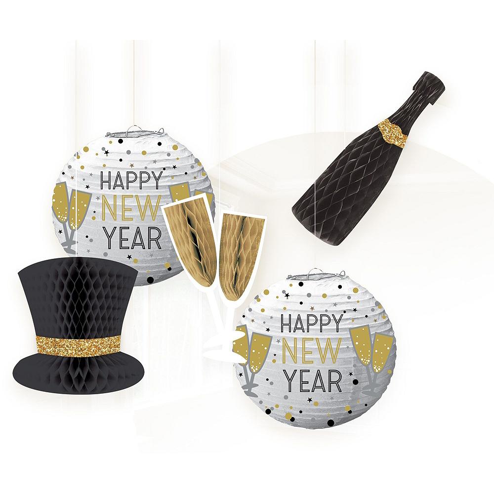 Bubbly Bottle New Year's Eve Decorating Kit Image #2