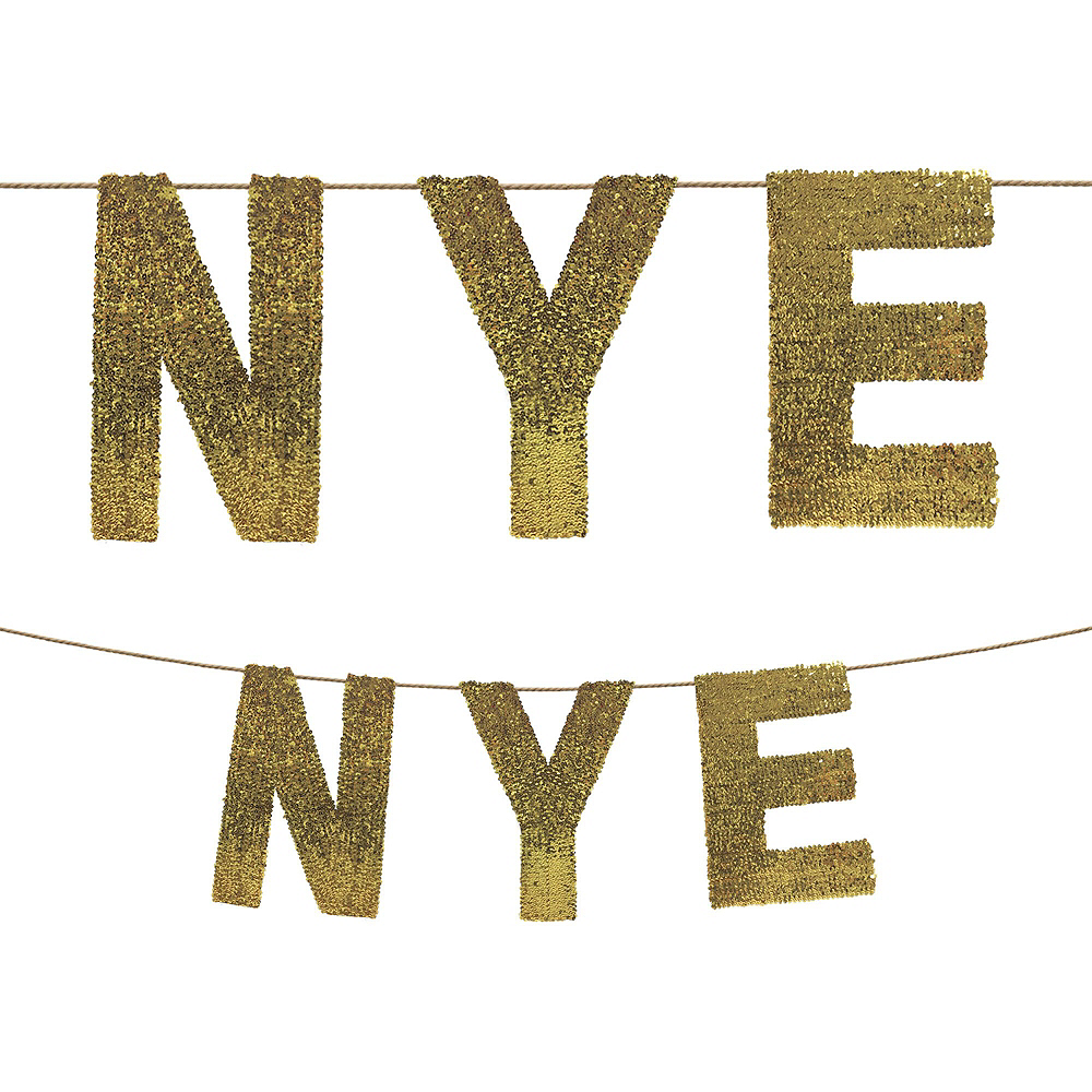 Midnight New Year's Eve Decorating Kit Image #2