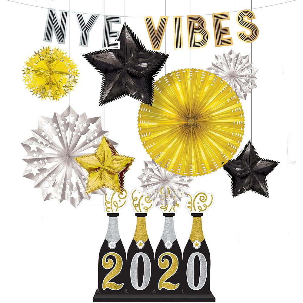 New Year's Eve Vibes Decorating Kit Image #1