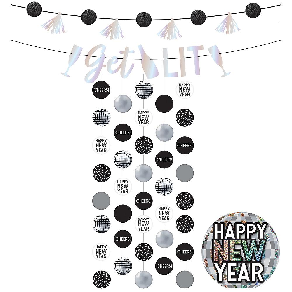 Disco New Year's Eve Decorating Kit Image #1