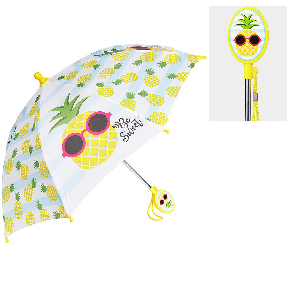 Child Pineapple Umbrella 26in x 21in Image #1