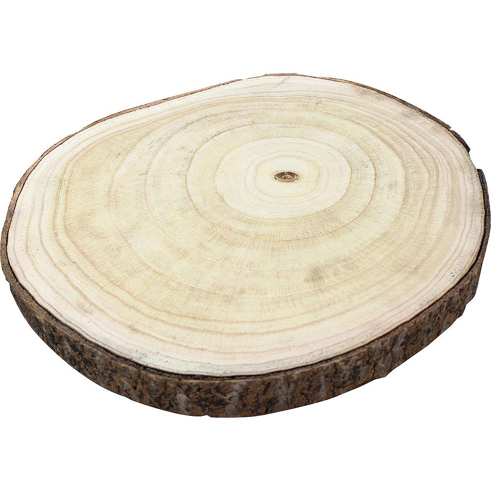 Wood Slice Centerpiece Image #1