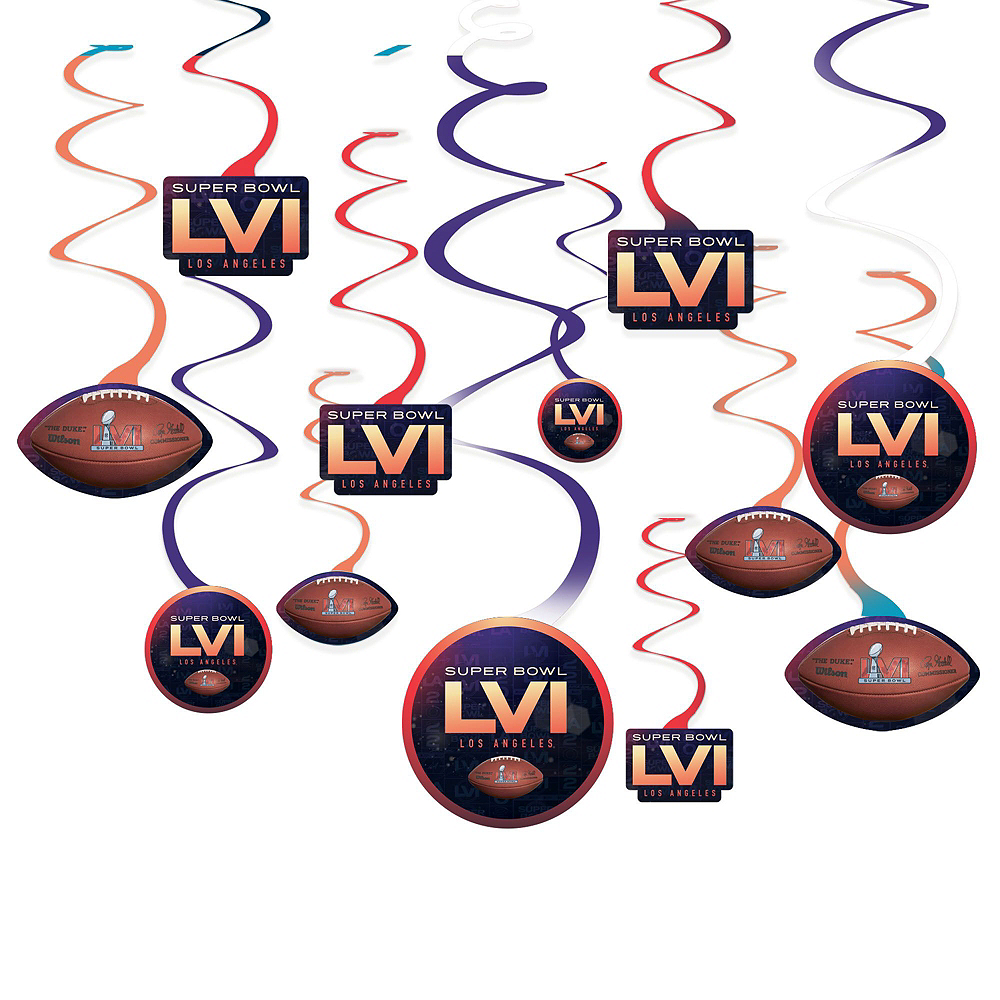 Super Bowl Deluxe Tableware Kit for 18 Guests Image #6