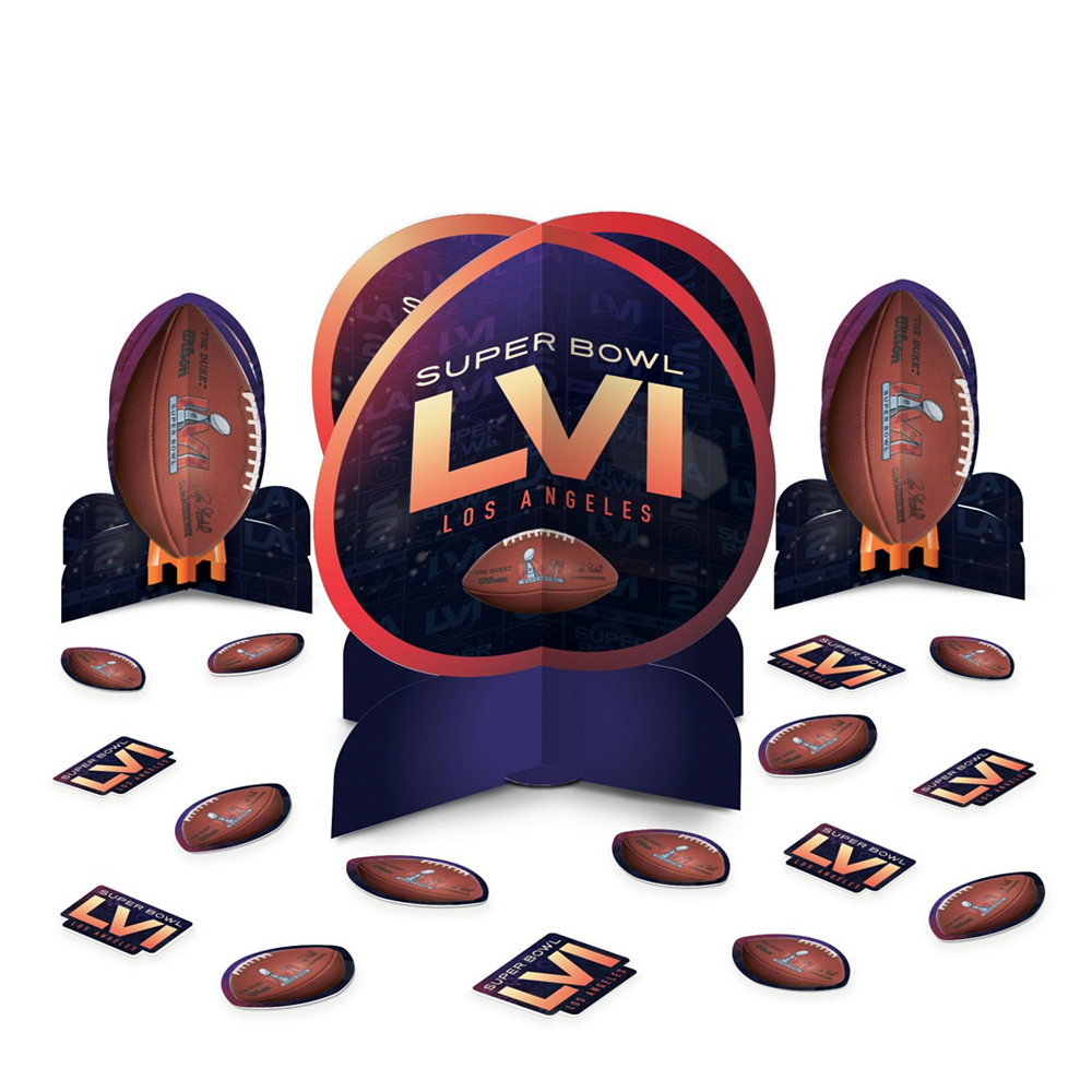 Super Bowl Deluxe Tableware Kit for 18 Guests Image #7