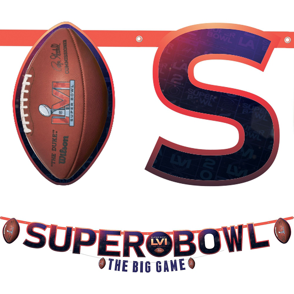Super Bowl Deluxe Tableware Kit for 36 Guests Image #6
