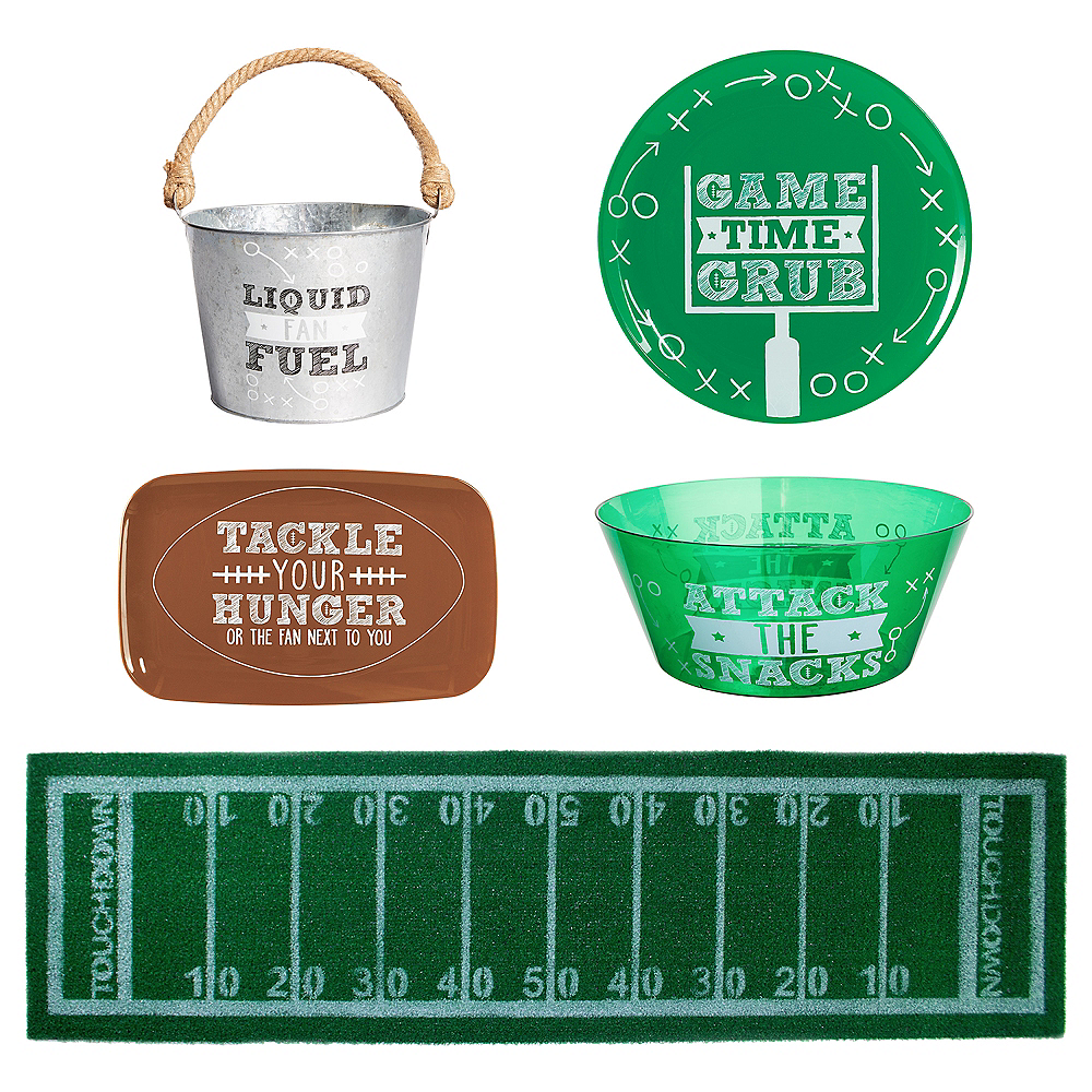 Touchdown Football Serveware Kit Image #1