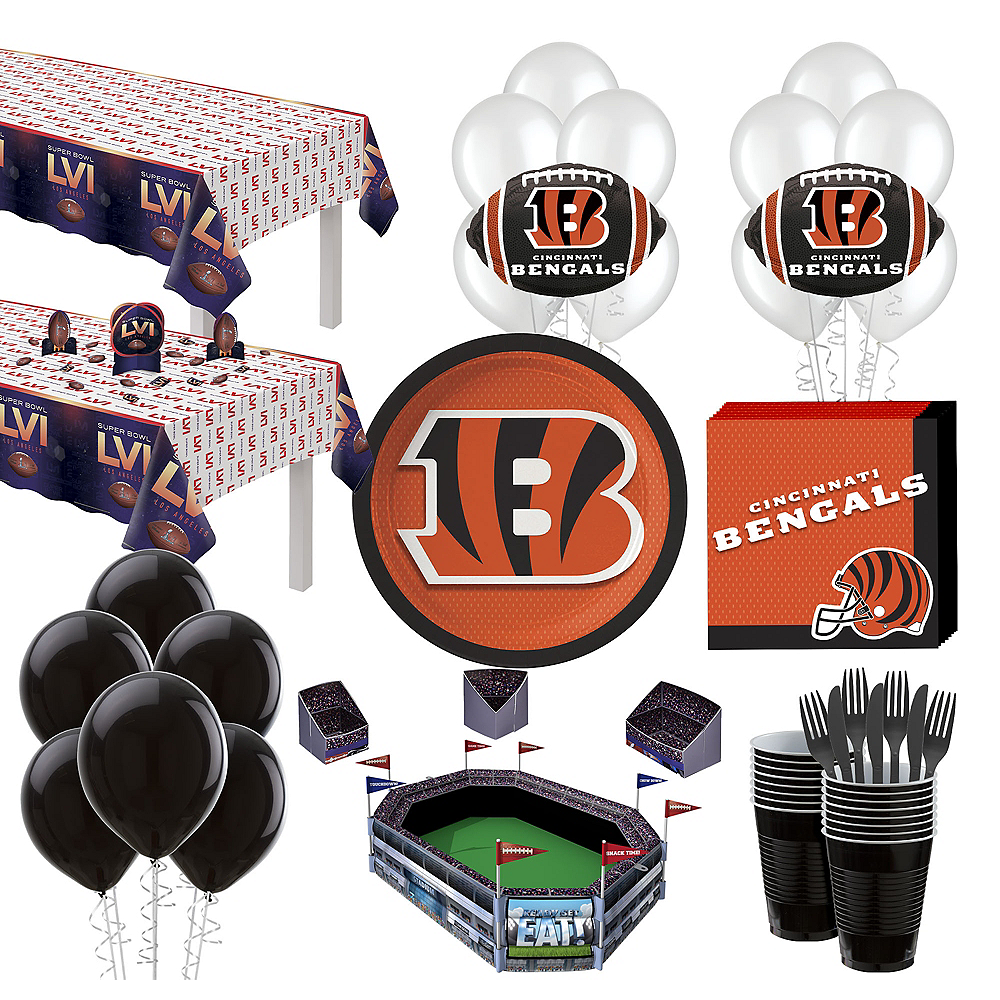 c211fa86eaa9f Nav Item for Super Kansas City Chiefs Super Bowl Party Kit for 36 Guests  Image ...