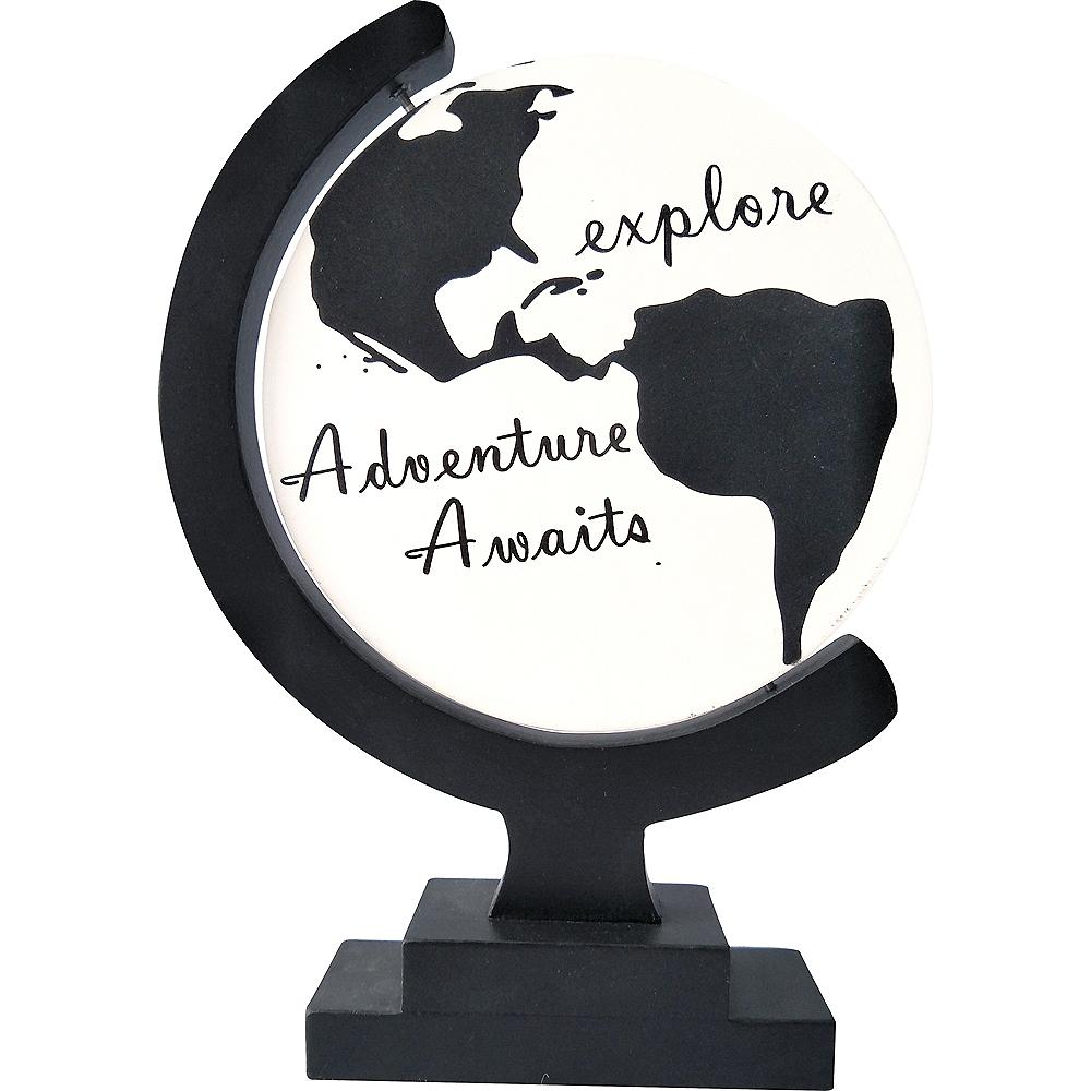 Adventure Awaits Globe Sign Image #1