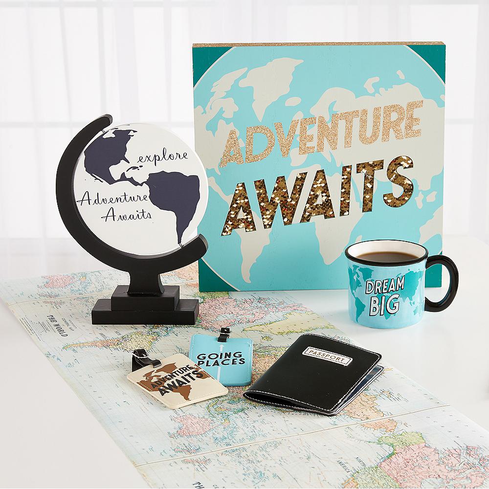 Adventure Awaits Globe Sign Image #2