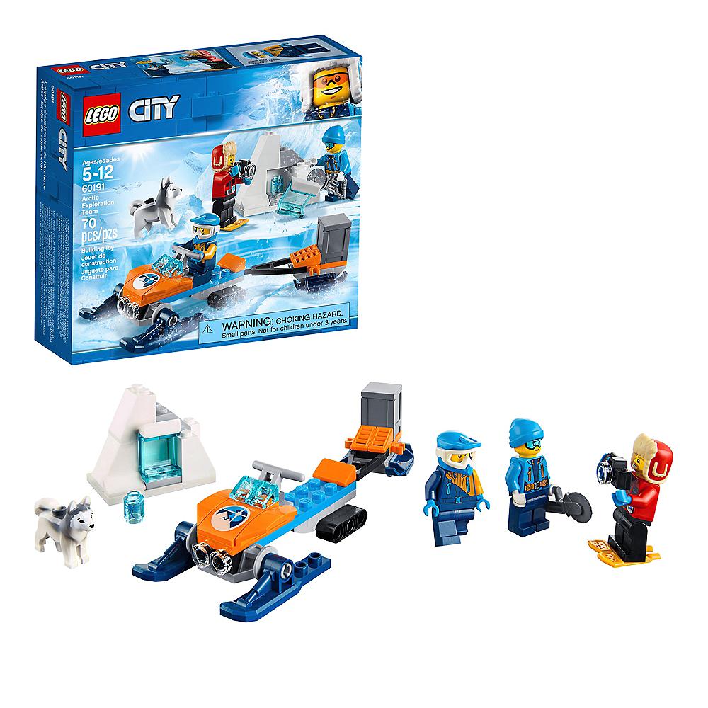Lego City Arctic Exploration Team 70pc - 60191 Image #1