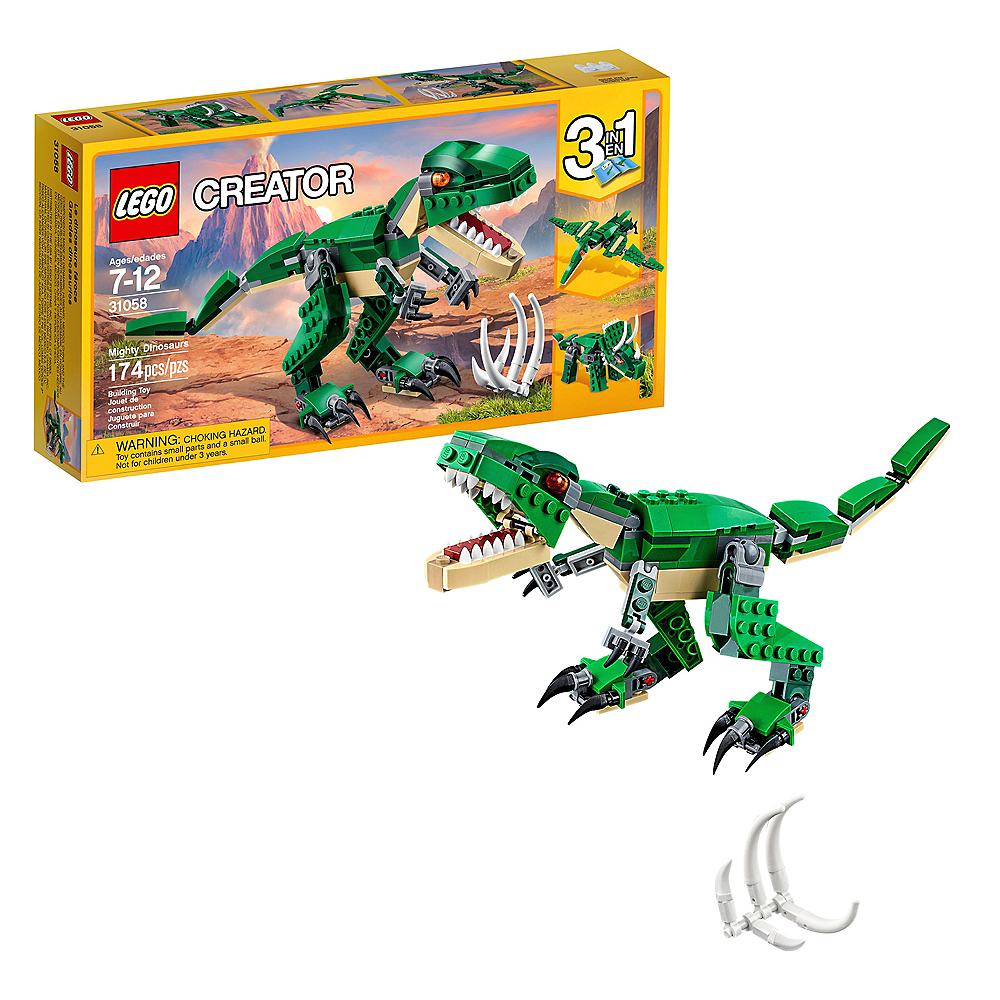 Lego Creator Mighty Dinosaurs 174pc - 31058 Image #1