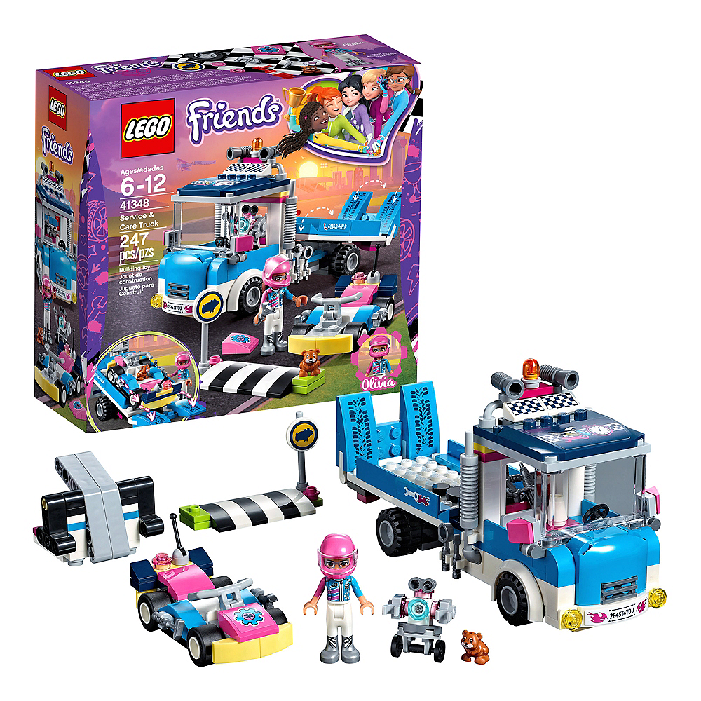 Nav Item for Lego Friends Service & Care Truck 247pc - 41348 Image #1