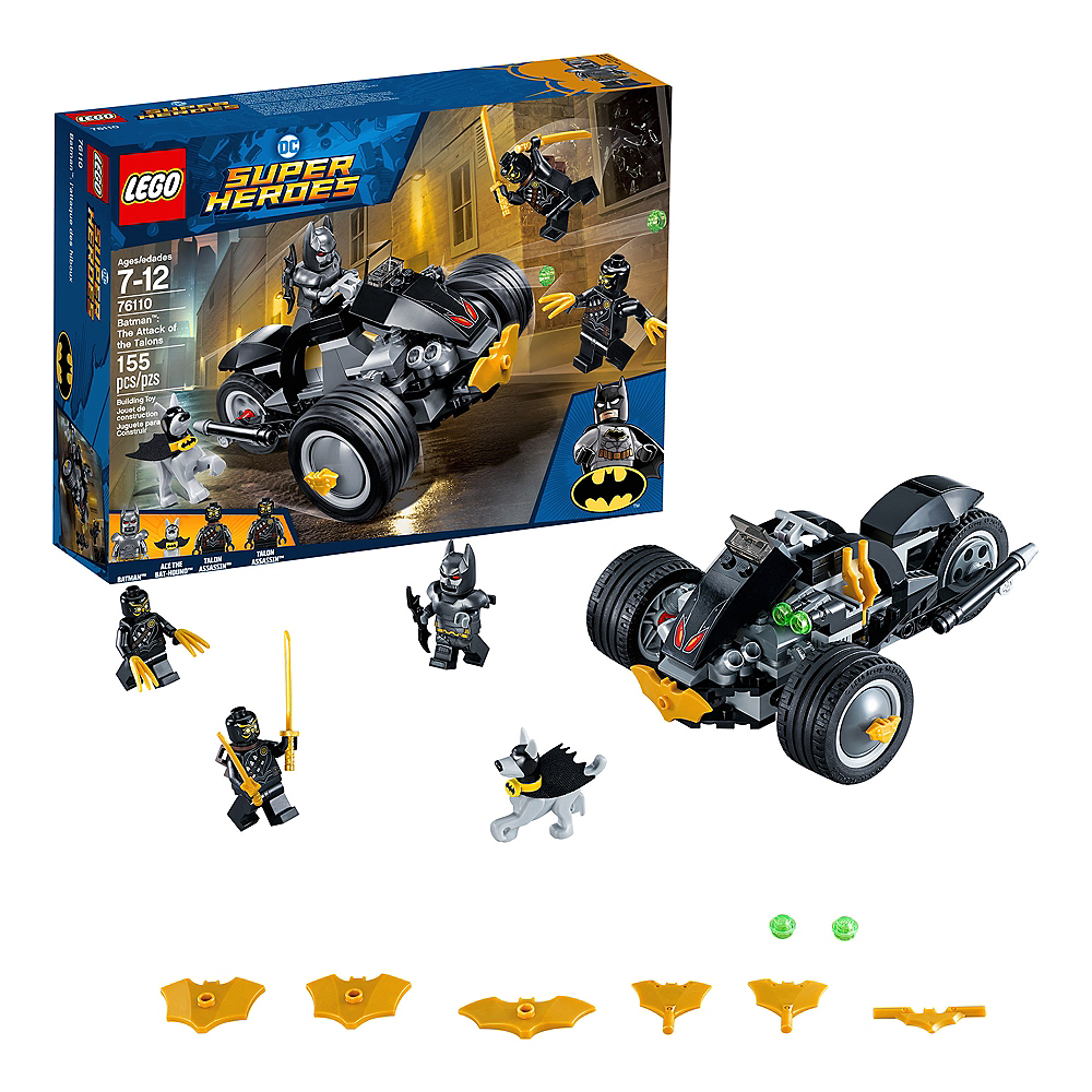 Lego Super Heroes Batman: The Attack of the Talons 155pc - 76110 Image #1