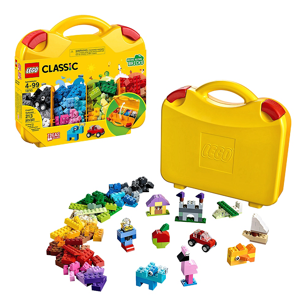 Lego Classic Creative Suitcase 213pc - 10713 Image #1