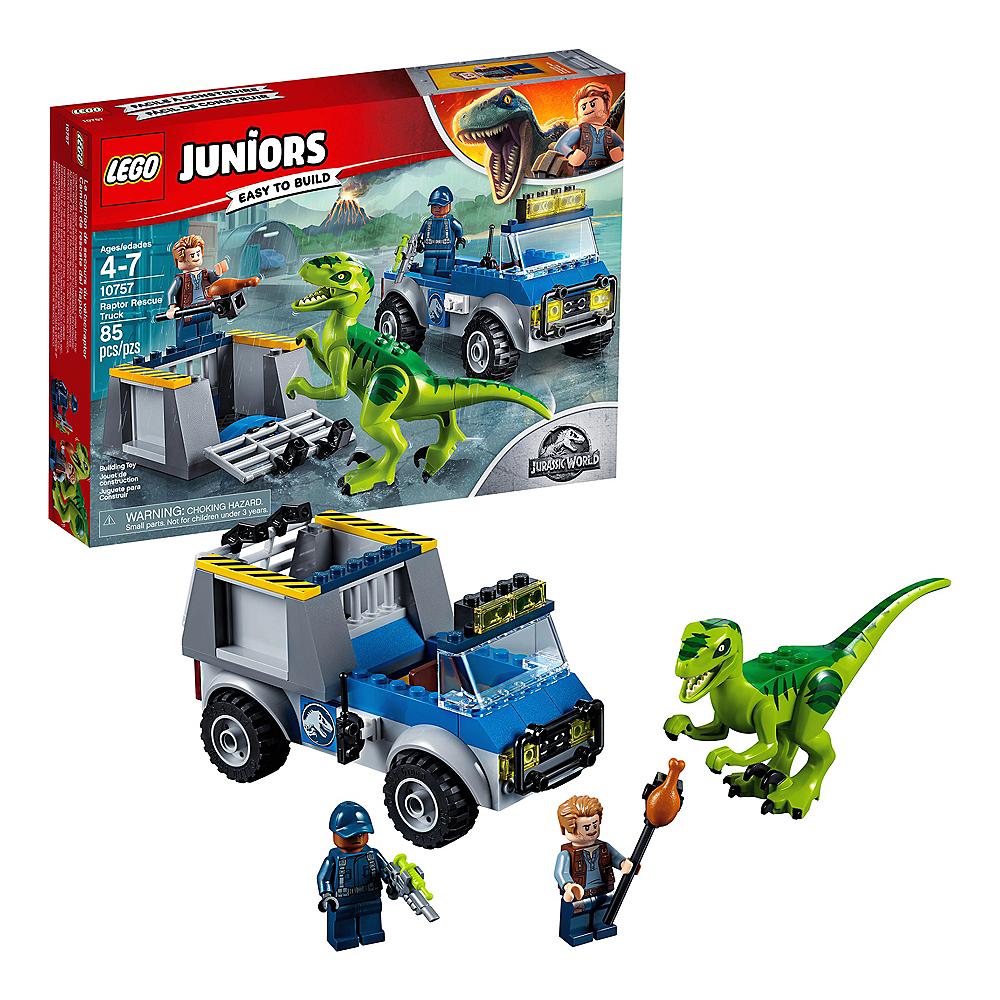 Lego Juniors Raptor Rescue Truck 85pc - 10757 Image #1