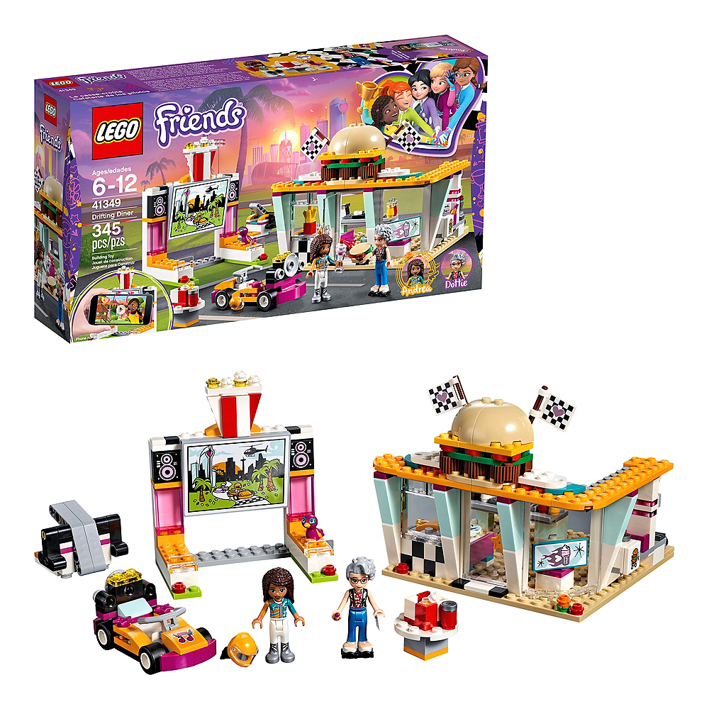 Lego Friends Drifting Diner 345pc - 41349 Image #1