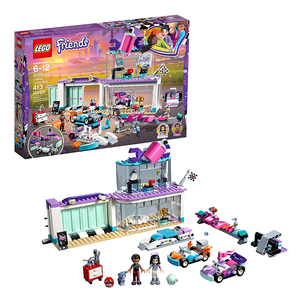 Lego Friends Creative Tuning Shop 413pc - 41351 Image #1