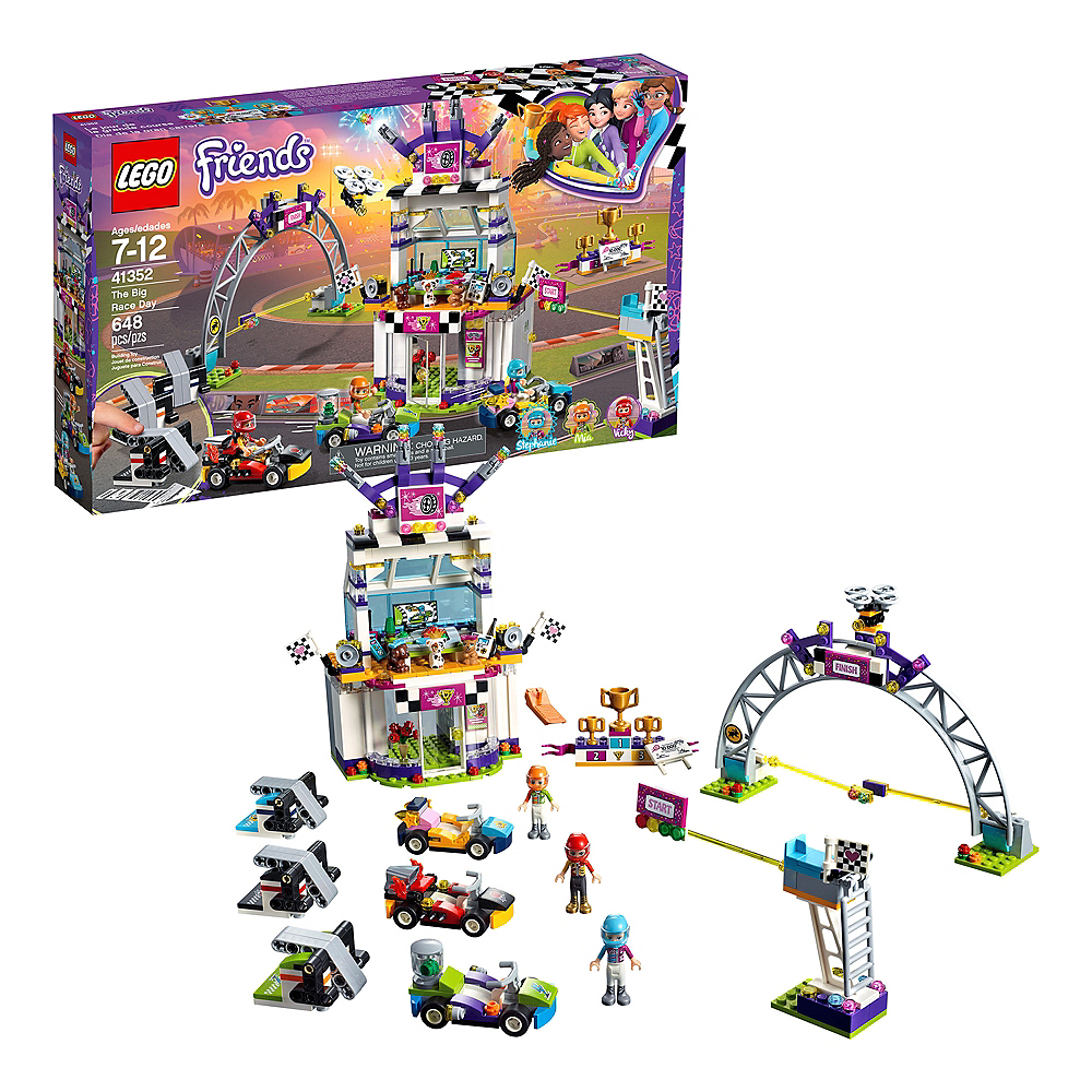 Lego Friends The Big Race Day 648pc - 41352 Image #1