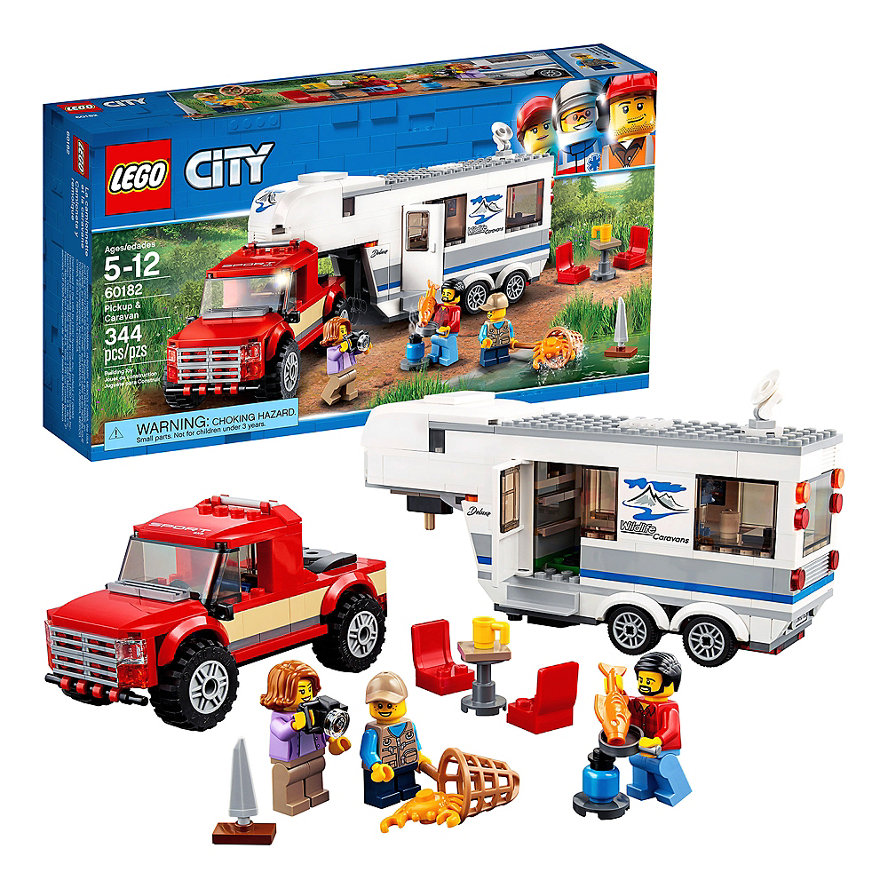 Lego City Pickup & Caravan 344pc - 60182 Image #1