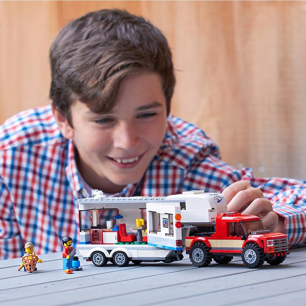 Lego City Pickup & Caravan 344pc - 60182 Image #2