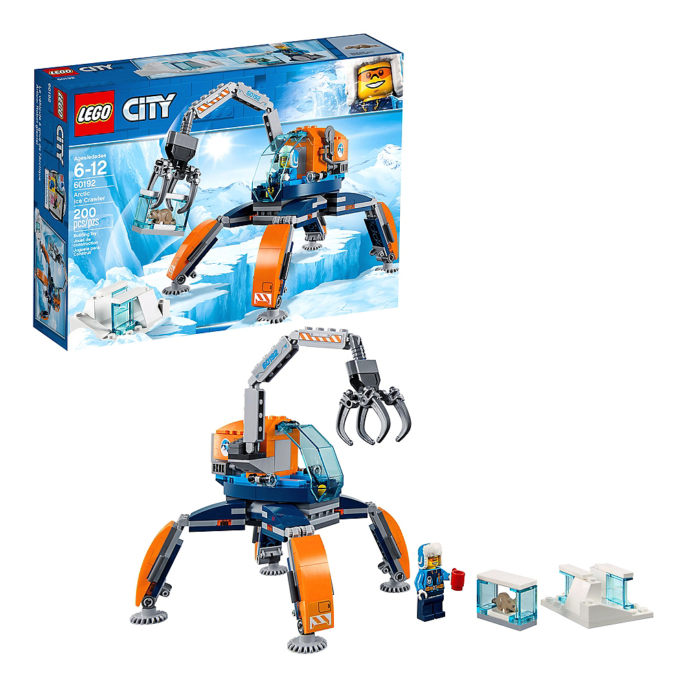 Lego City Arctic Ice Crawler 200pc - 60192 Image #1