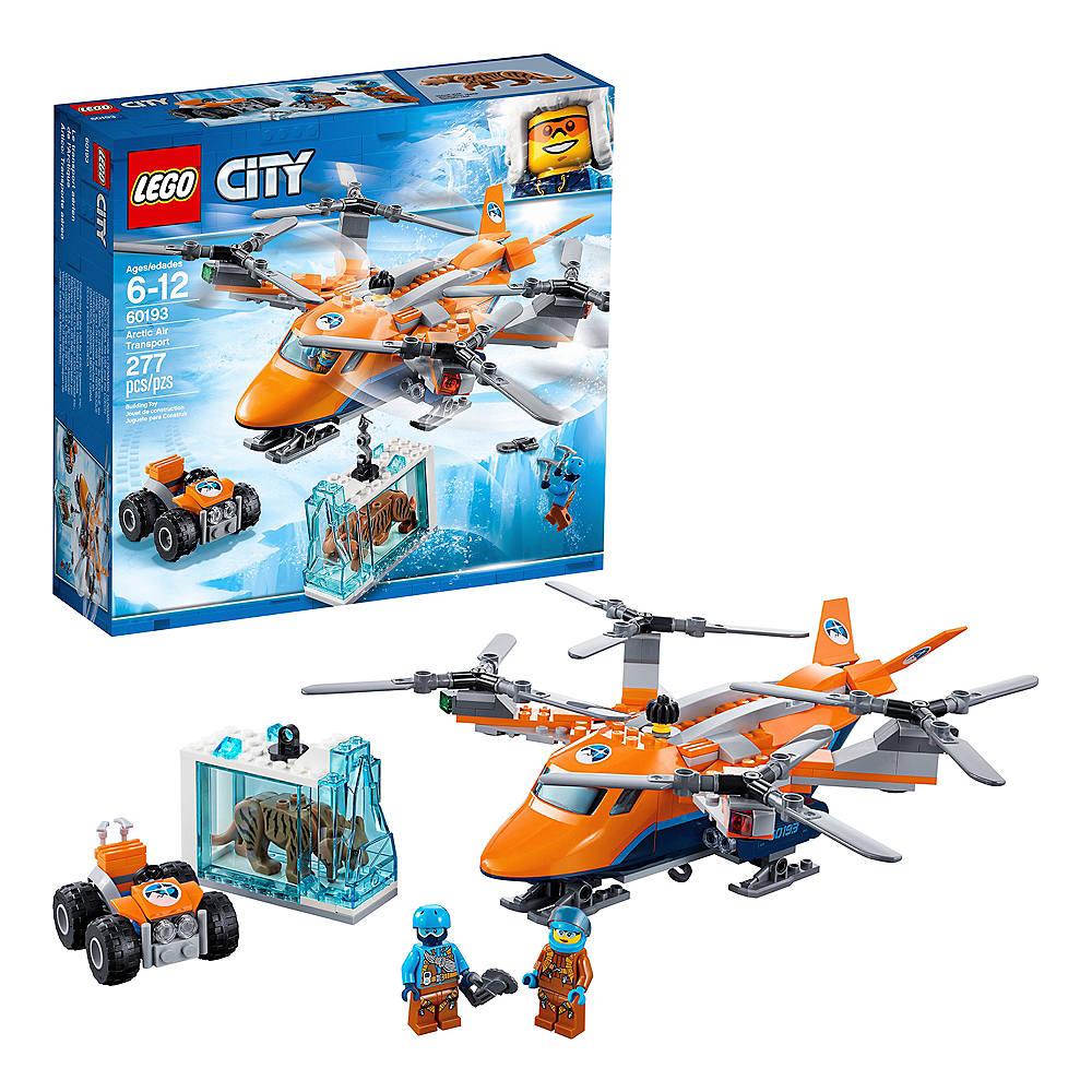 Lego City Arctic Air Transport 277pc - 60193 Image #1
