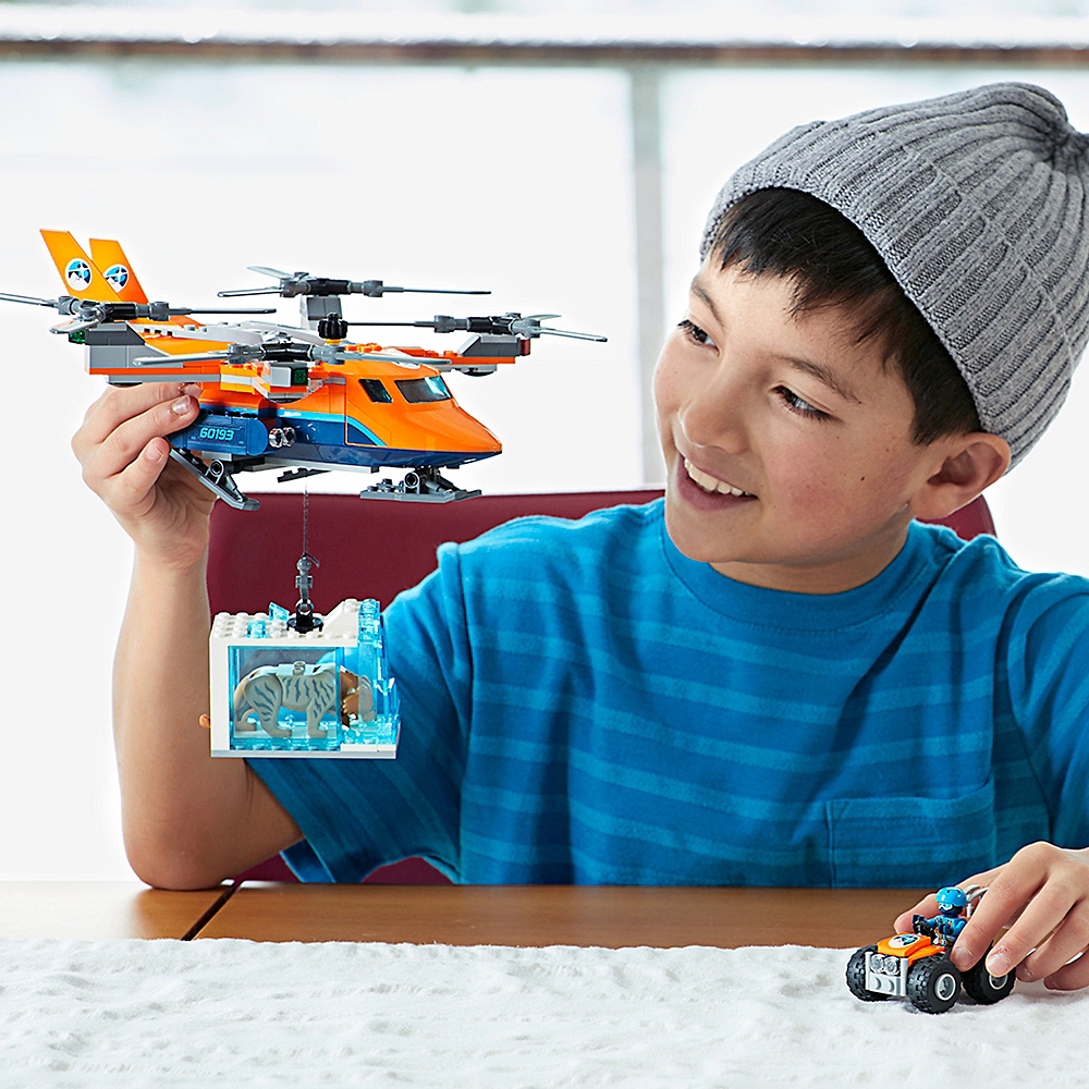 Lego City Arctic Air Transport 277pc - 60193 Image #2