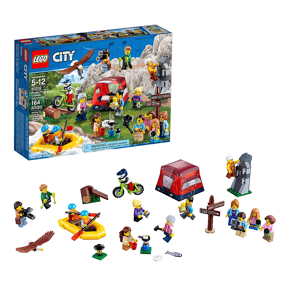 Lego City People Pack Outdoor Adventures 164pc - 60202 Image #1