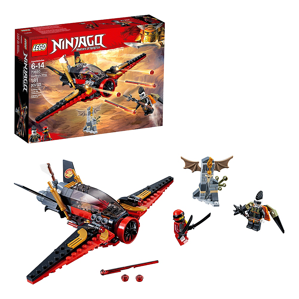 Nav Item for Lego Ninjago Destiny's Wing 181pc - 70650 Image #1
