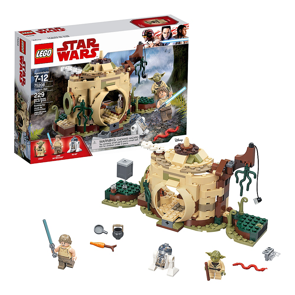 Lego Star Wars Yoda's Hut 229pc - 75208 Image #1