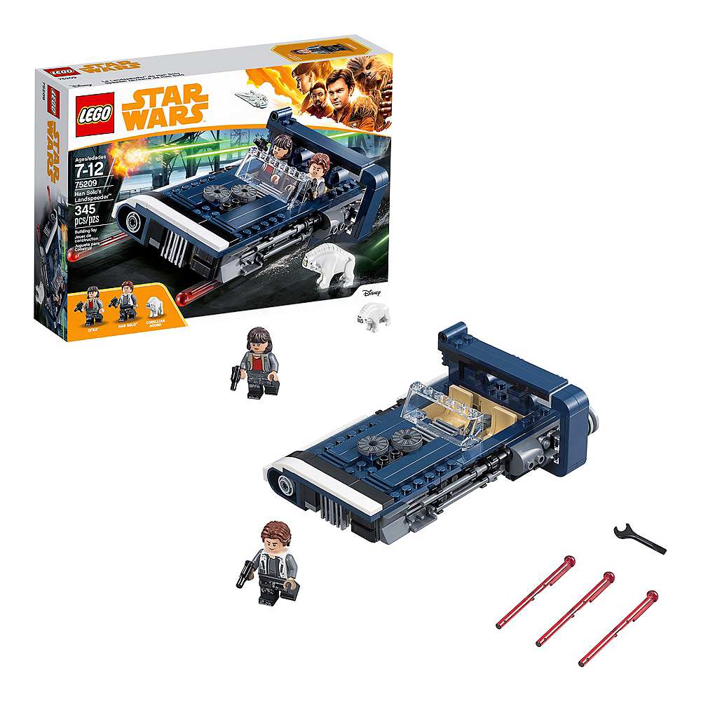 Nav Item for Lego Star Wars Han Solo's Landspeeder 345pc - 75209 Image #1