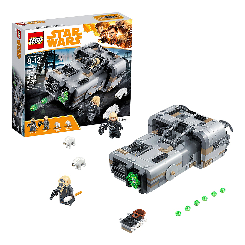 Lego Star Wars Moloch's Landspeeder 464pc - 75210 Image #1