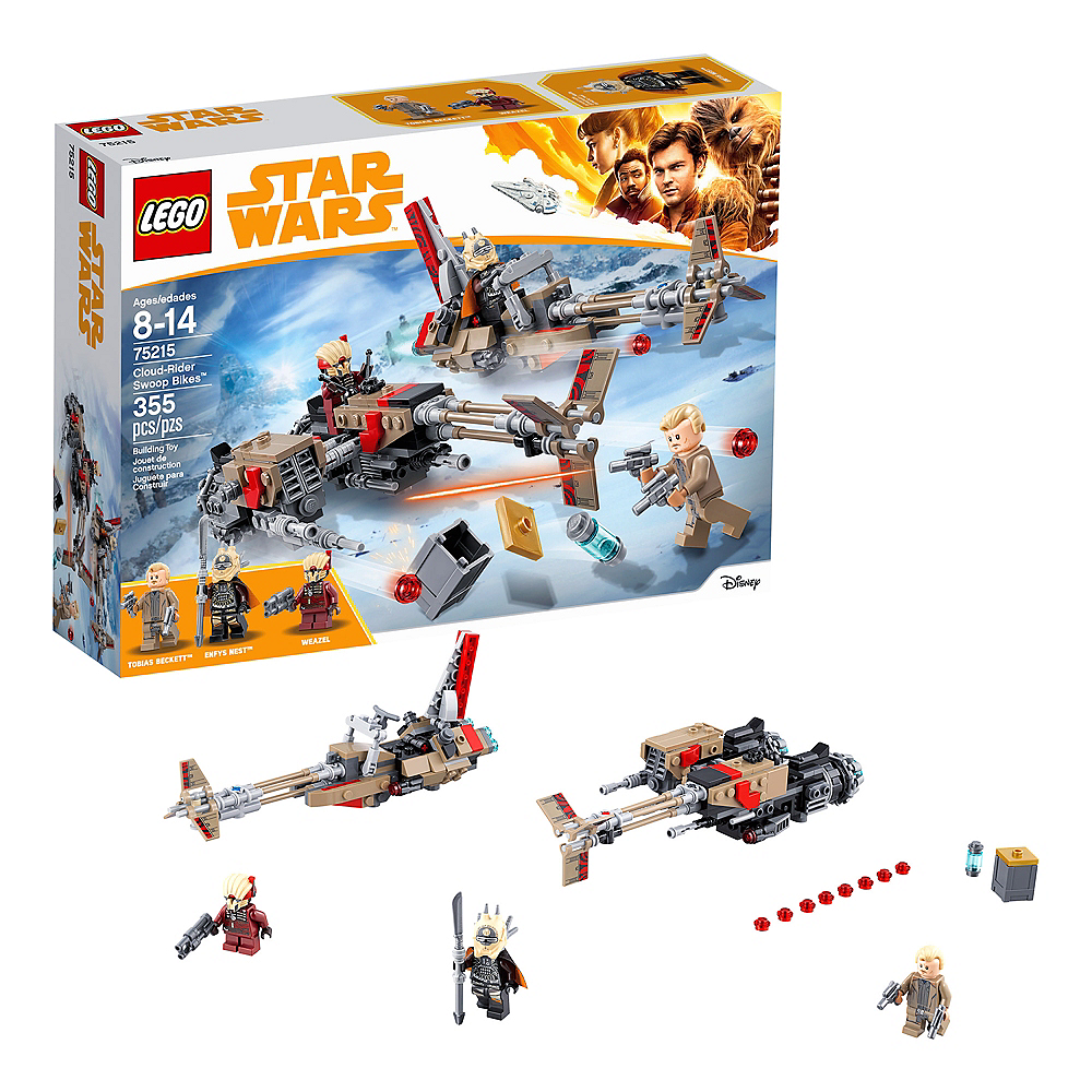 Lego Star Wars Cloud-Rider Swoop Bikes 355pc - 75215 Image #1