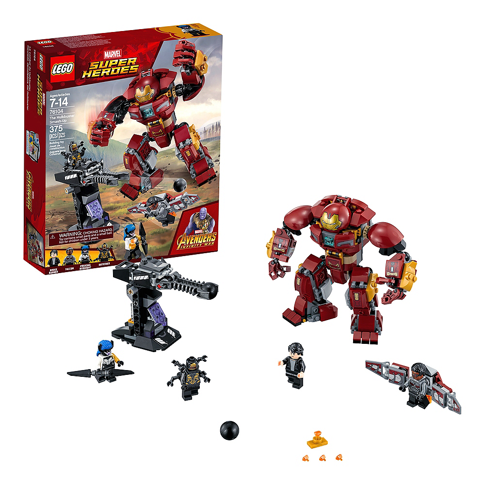 Lego Super Heroes The Hulkbuster Smash-Up 375pc - 76104 Image #1