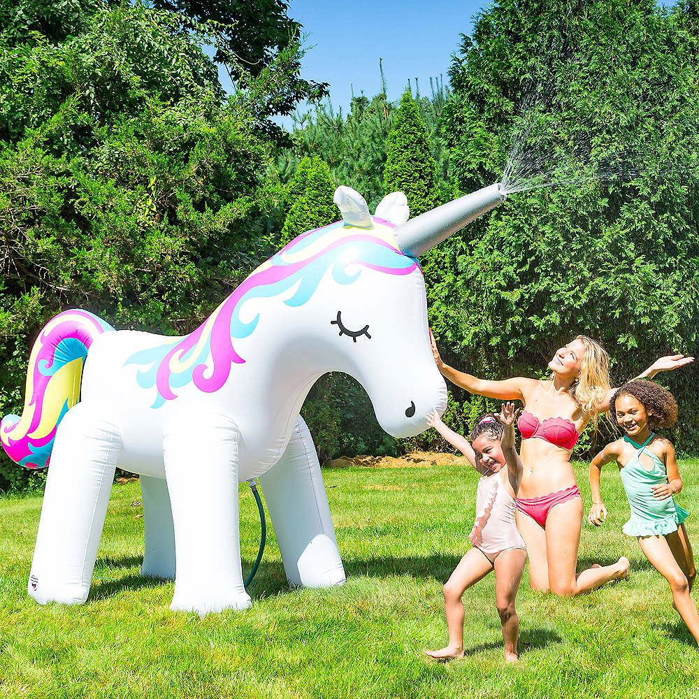 Giant Unicorn Sprinkler Image #1