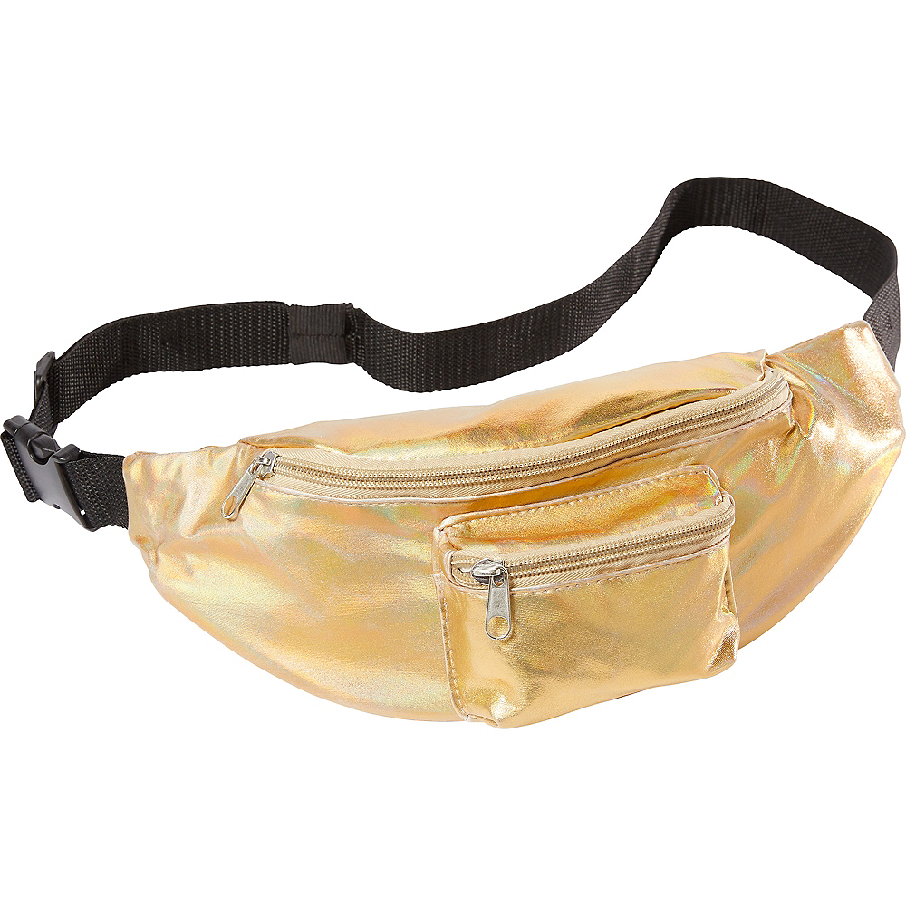 Holographic Gold Fanny Pack Image #1