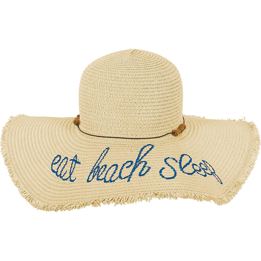 922a88741 Eat Beach Sleep Straw Hat