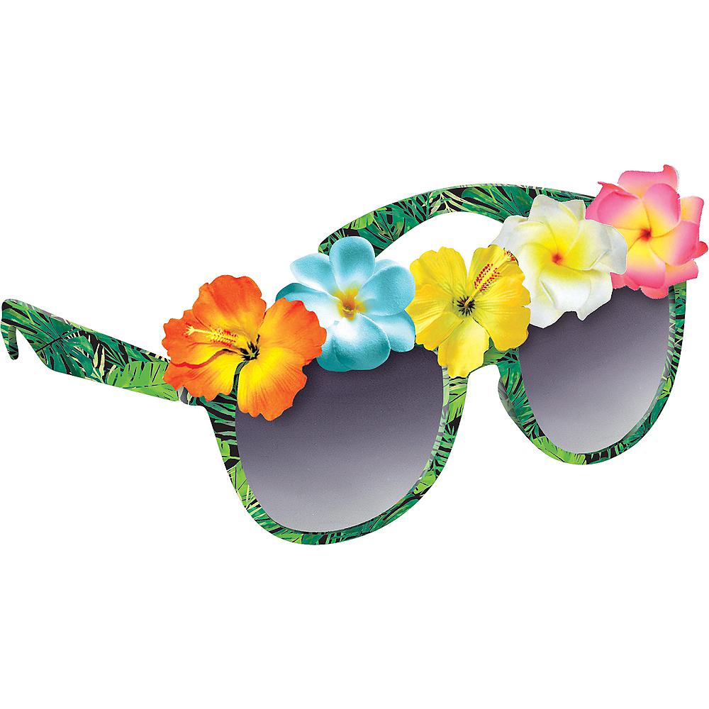 Adult Tropical Jungle Sunglasses Image #1
